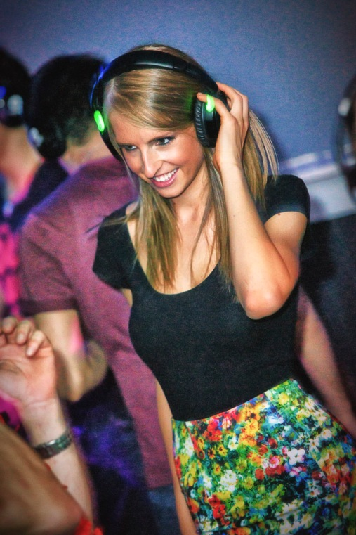 silent discos, party girl